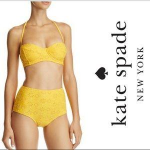 Kate Spade high waist bikini
